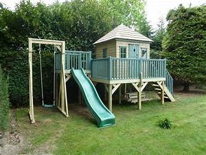 Haus Gestalten Spiele : spielhaus mit rutsche und schaukel beliebte kinderspiele ~ Lizthompson.info Haus und Dekorationen