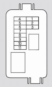 Honda Odyssey  2008 - 2010  - Fuse Box Diagram