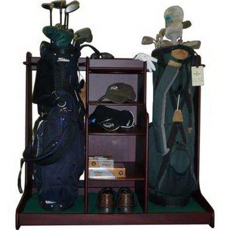 sawood woodworking plans golf bag rack