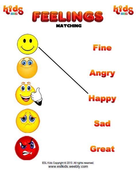 feelings worksheet for preschool the best worksheets image