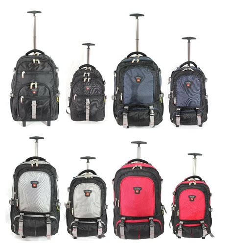 wheeled rucksack cabin baggage executive wheeled business mobile office laptop cabin