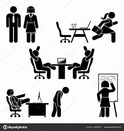 Stick Bureau Office Soutien Entreprises Milieu Finances