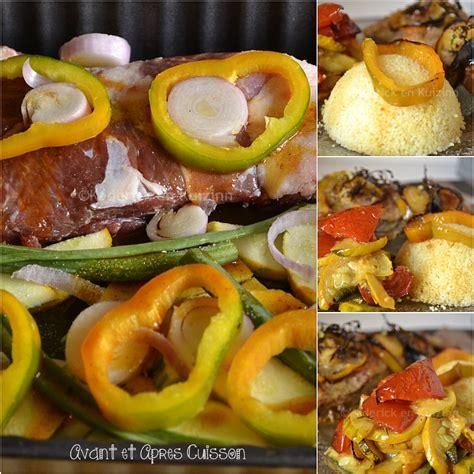 cuisine plancha recette gigot d 39 agneau légumes bio rôtis et semoule recette