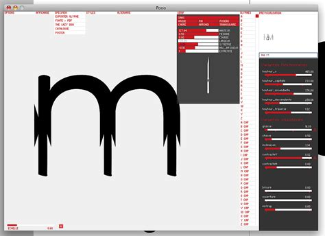 prototyp 0 font generator by yannick mathey bytefoundry processing typography font