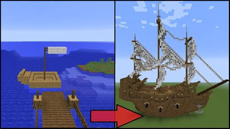 How To Make A War Boat In Minecraft 5 easy steps to improve your minecraft boat by grian