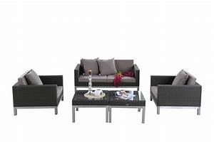 Gartenmöbel Lounge Rattan : rattan lounge sunshine das gartenm bel set f r terrasse und garten ~ Indierocktalk.com Haus und Dekorationen