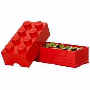 Aufbewahrungsbox Für Lego : aufbewahrungsbox storage brick 8 rot von lego ~ Buech-reservation.com Haus und Dekorationen