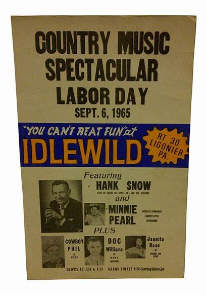 Concert Country Poster 1965 Posters Chairish