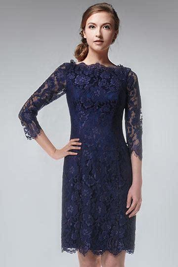 robe bleu marine mariage mi longue robe de soir 233 e courte dentelle bleu marine 224 manche mi