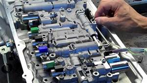 Ab60 Toyota Tundra Valve Body Removal And Installation