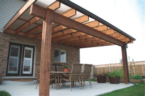 Wood Patio Cover Awning