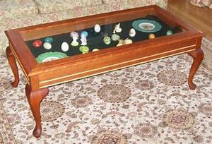 hand crafted curio coffee table by carl larson With curio coffee table