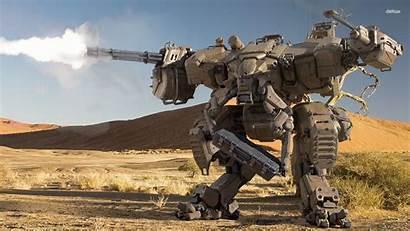 Battletech Mechwarrior Robot Wallpapers Desktop Battle Desert