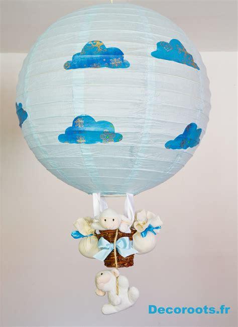 decoration nuage chambre bébé le montgolfière mouton nuage enfant bébé luminaire