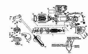 Dewalt 4 1  2 U0026quot  Angle Grinder Parts
