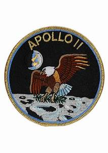 Apollo 11 Embroidered Mission Patch | Astronomy Now Shop