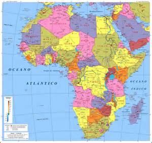 Mapa De Europa Y Africa