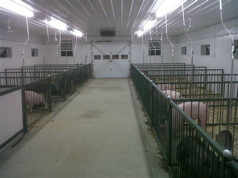 Hog Barn Plans by Humphrey Agri Marketing Solutions Llc Guyer Cattle Goes