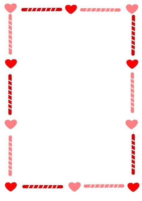 Valentine's Day Clip Art Borders – Cliparts