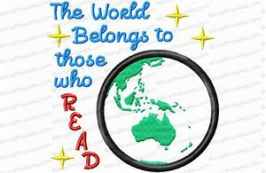 The World Belongs to Those Who Read
