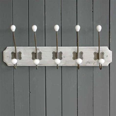 french vintage style wall mounted coat hooks rack storage hat rack shabby chic amazing grace