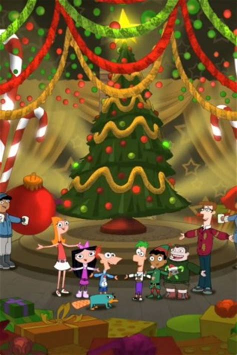 phineas  ferb christmas wallpaper hd wallpapers