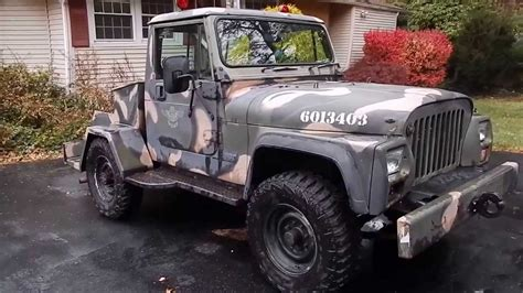 Jeep Tug With Factory Nissan Diesel Youtube