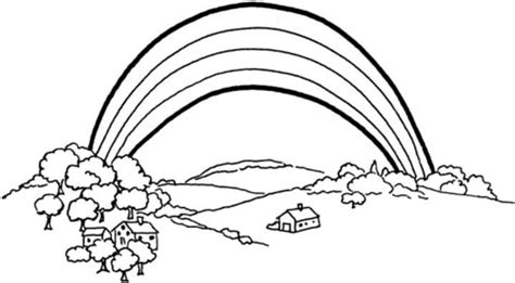 The Rainbow coloring page Free Printable Coloring Pages