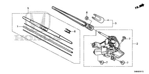 small engine service manuals 2012 honda odyssey electronic throttle control oem 2018 honda odyssey 5 door rear wiper parts hondapartsonline net
