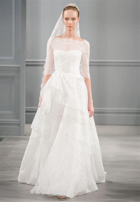 Spring 2014 Wedding Dress Monique Lhuillier Bridal Monaco