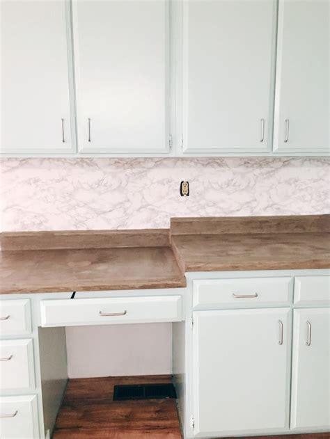 contact paper for kitchen backsplash diy marble contact paper backsplash a joyful riot 8301
