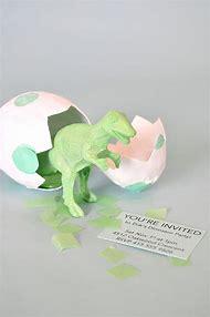 Dinosaur Eggs Party Birthday Invitations