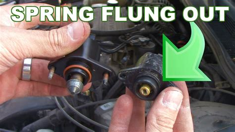 replace  idle air control iac valve youtube