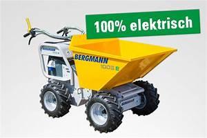 Bergmann 1005 E Minidumper elektrisch HKL BAUMASCHINEN