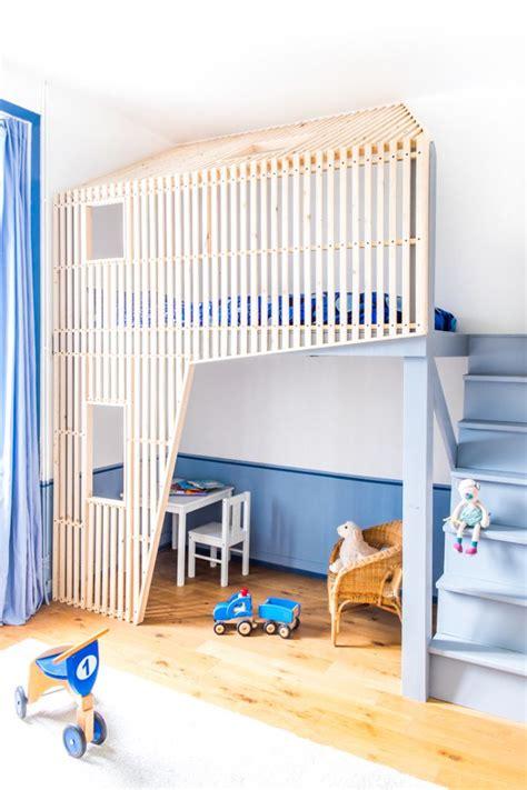 cabane de chambre les 25 meilleures idées de la catégorie lit mezzanine sur