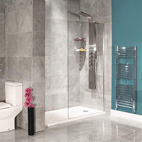 walk  glass shower screen