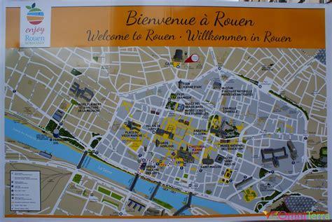 Carte Touristique Du Centre De La by Info Plan Touristique Rouen