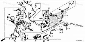 Honda Side By Side 2016 Oem Parts Diagram For Wire Harness