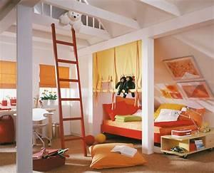 Boys Bedroom: Endearing Orange Sheet Platform Bed With ...