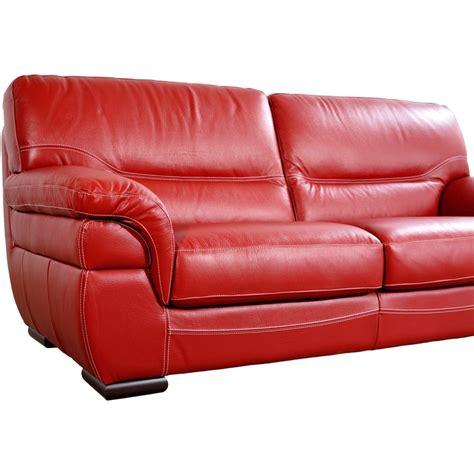 canap 233 2 places cuir meuble de salon fabrication italie