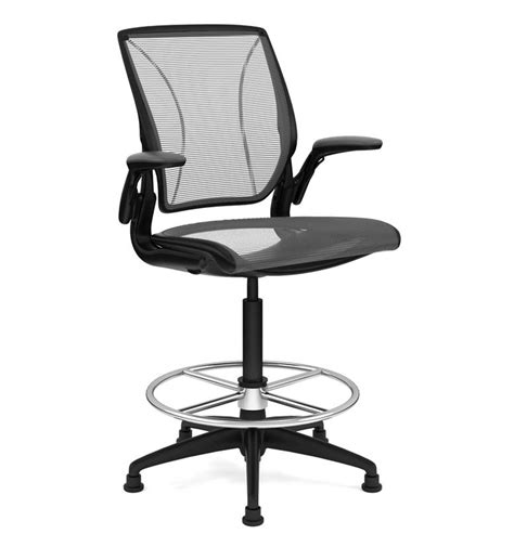 Diffrient World Chair by Humanscale Diffrient World High Chair With Footring