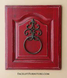diy old cabinet door upcycle to family room wall art With what kind of paint to use on kitchen cabinets for chili pepper wall art