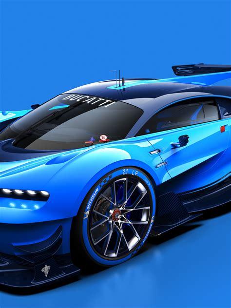 Bugatti Vision Concept 2015 Retina Ipad  Wallpaper 3d