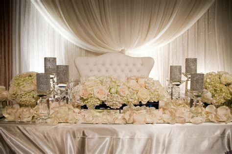 wedding main table decor main table decorations for wedding banquet head table
