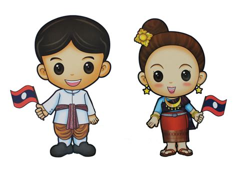 การ์ตูนการแต่งกายแบบเป็นทางการ 10 ประเทศอาเซียน 10 Asean ...