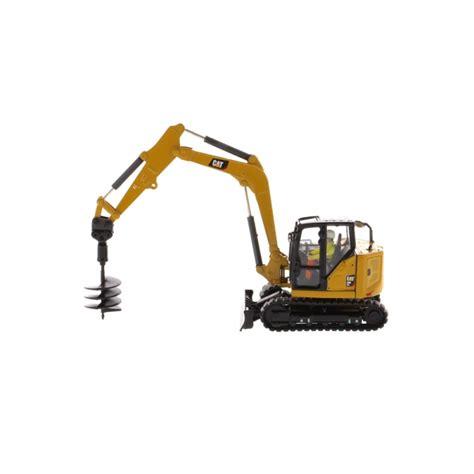 cat  cr mini hydraulic excavator accurate diecast