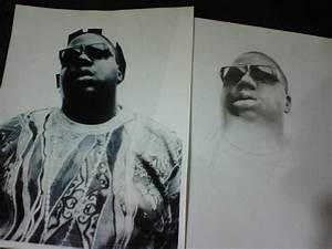 Biggie Smalls pencil drawing by julydart on DeviantArt