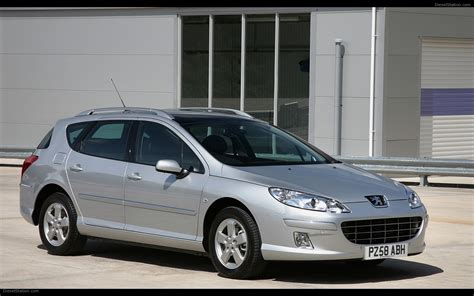 The New 2009 Peugeot 407 Widescreen Exotic Car Picture 13