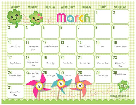 customize cute calendars  microsoft publisher