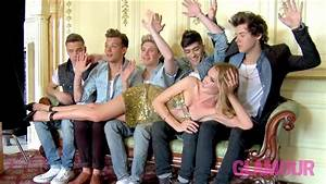 One Direction Behind The Scenes -- Glamour Photo Shoot ...